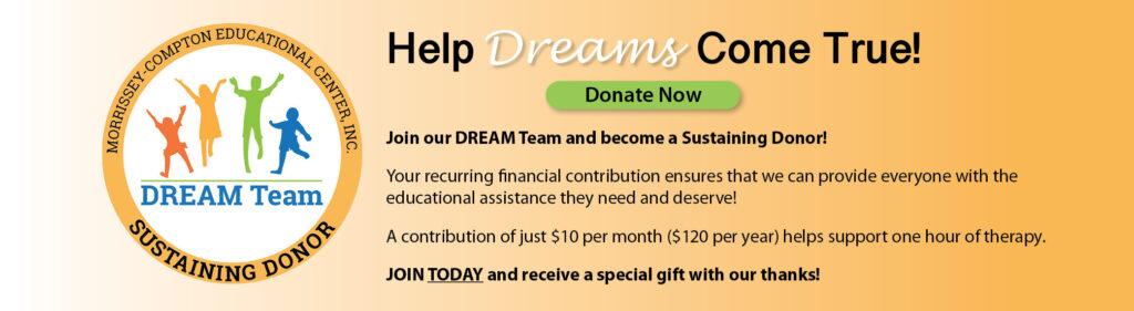 2021 DREAM Team banner